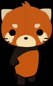 Cute Red Panda Mochi